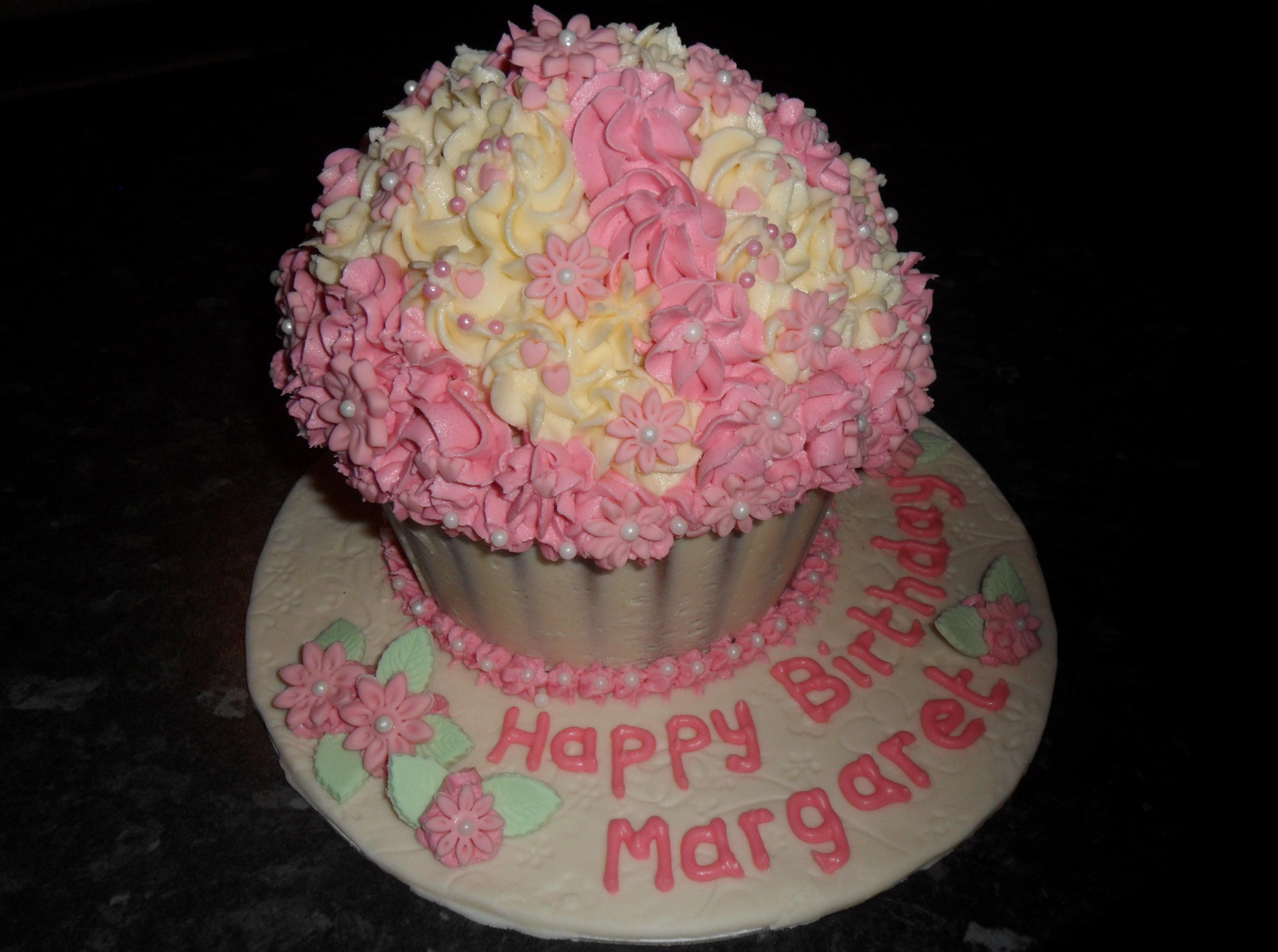 Giant Cupcake Cake Pan Directions