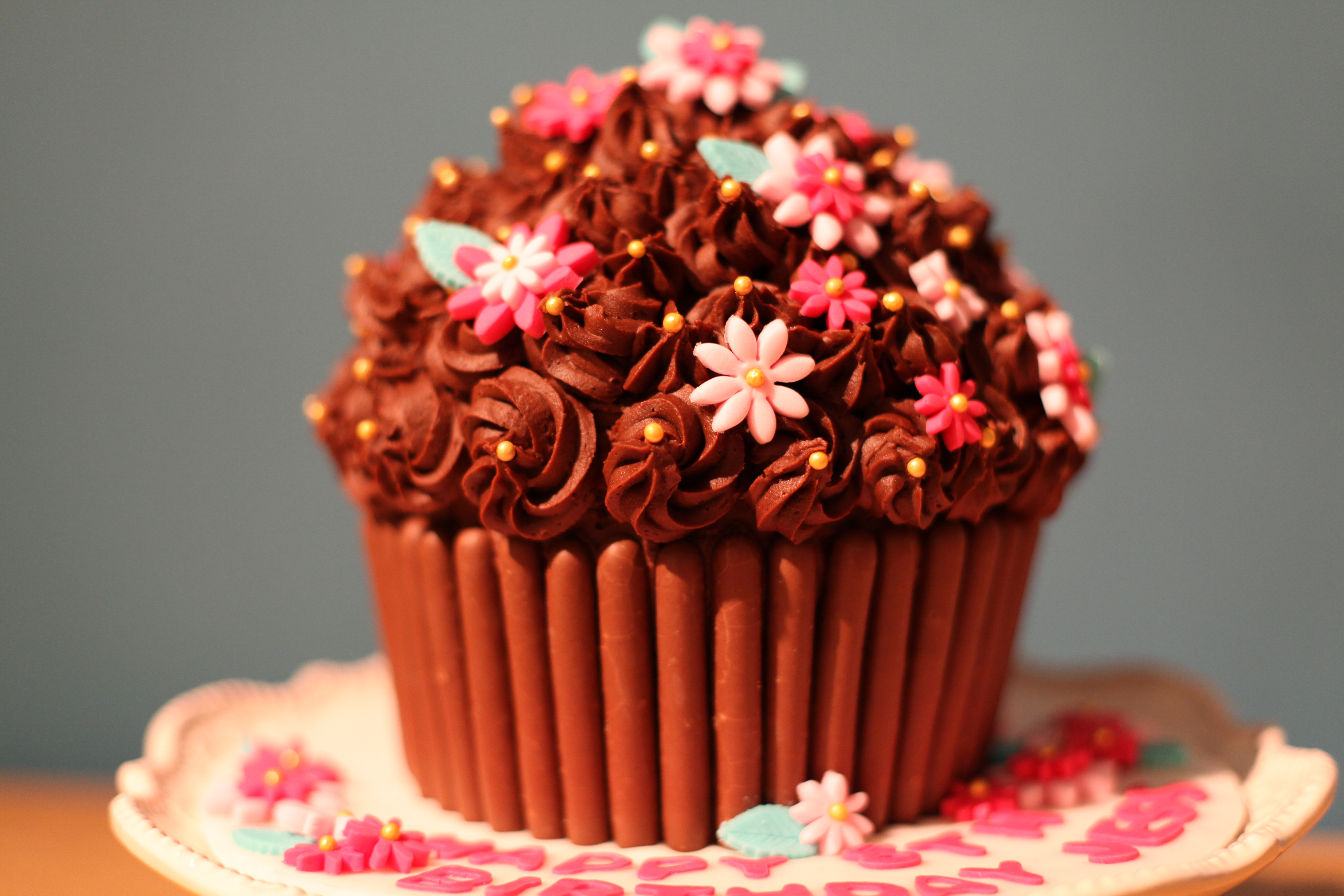 giant cupcake | filledwithlovecupcakes